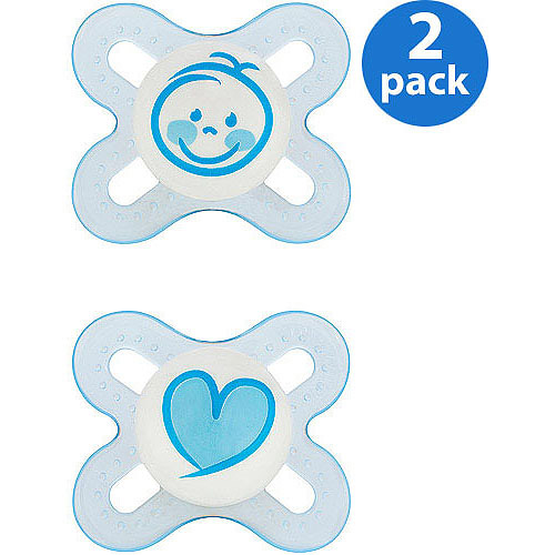 Mam - Start 0+ Silicone Pacifier 2 Pack,