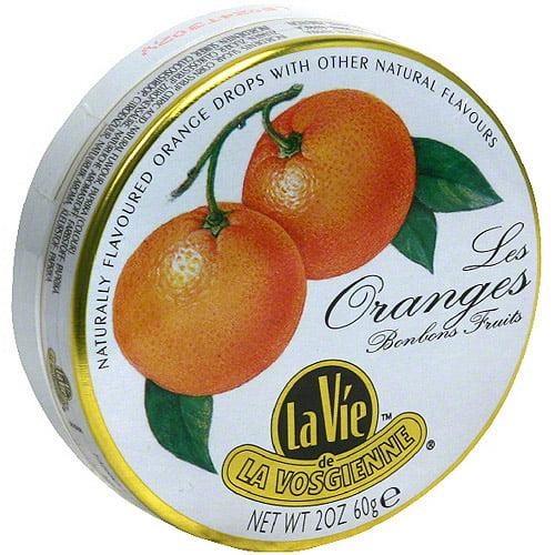 La Vie De La Vosgienne Orange Candy, 2 oz (Pack of 5)