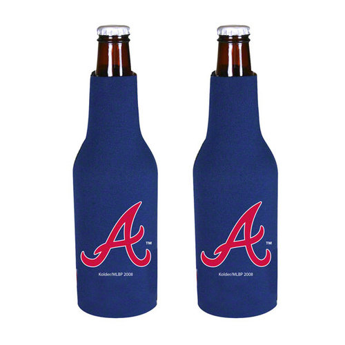 Atlanta Braves Official MLB  Insulated Coozie Bottle Cooler by Kolder
