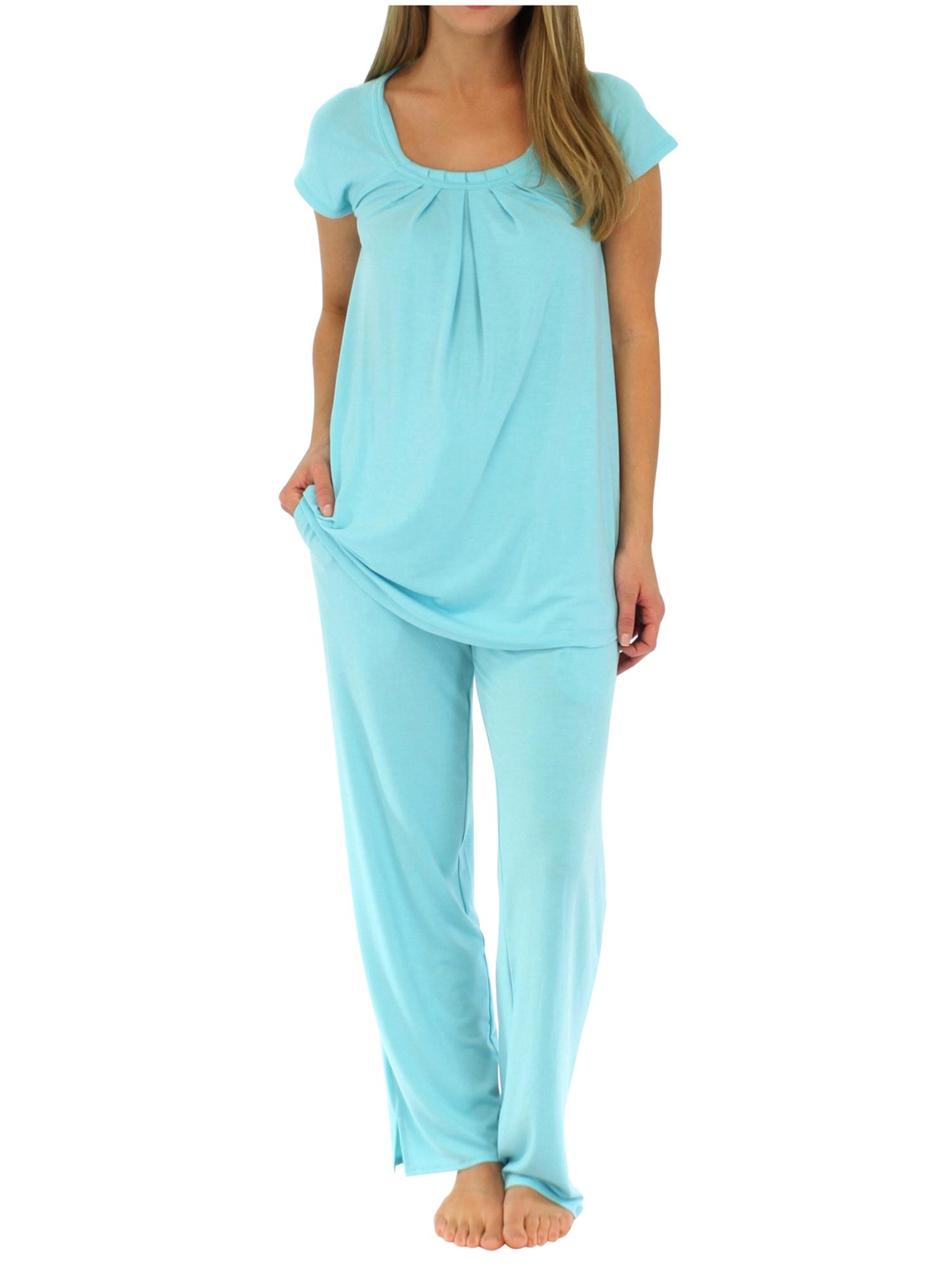 PajamaMania Women's Sleepwear Short Sleeve Pajamas PJ Set