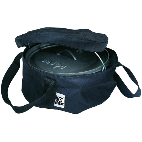 Lodge 12 Inch Camp Dutch Oven Tote Bag, A1-12, polyester with PVC backing by Lodge Mfg Co