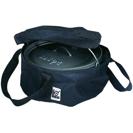 Lodge 12 Inch Camp Dutch Oven Tote Bag, A1-12, polyester with PVC backing