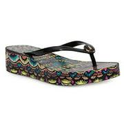 Sakroots Women Forte Flip Flop Sandals 10 M US