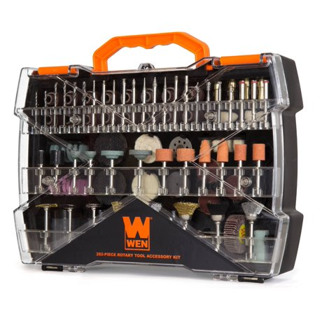 WEN 282-Piece Rotary Tool Accessory Kit with Carrying