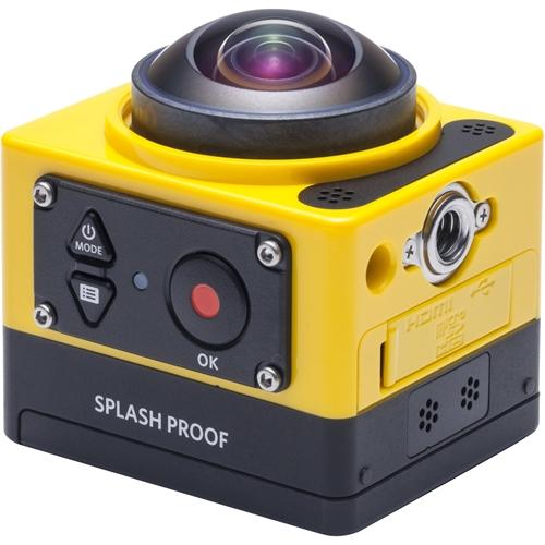 Kodak PIXPRO SP360 Digital Camcorder - MOS - Full HD - Yellow SP360-YL5