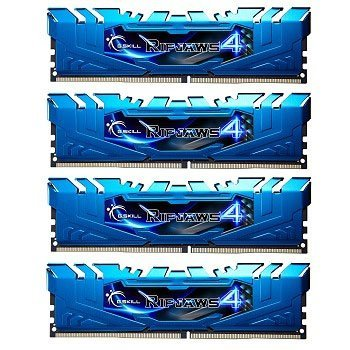 G.SKILL Ripjaws 4 series 32GB (4 x 8GB) 288-Pin DDR4 SDRAM 2400 (PC4-19200) Desktop Memory Model F4-2400C15Q-32GRB