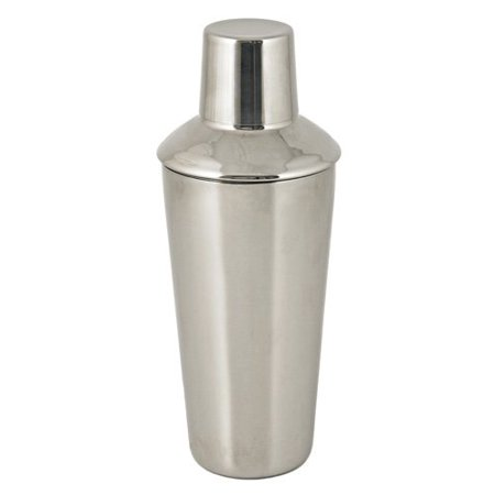 Martini Cocktail Shaker, Retro Stainless Steel Silver Vintage Cocktail Shaker