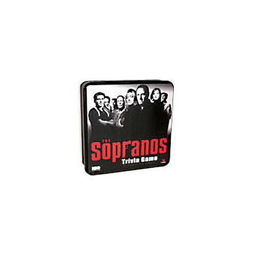 Cardinal The Sopranos Trivia Game TV Show Game HBO Board Games in Metal Tin by Cardinal Games