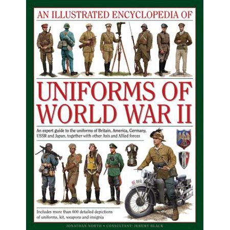 An Illustrated Encyclopedia of Uniforms of World War II : An Expert Guide to the Uniforms of Britain, America, Germany, USSR and Japan, Together with Other Axis and Allied Forces - Japanese School Uniform