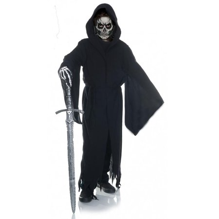 Grim Reaper Tattered Robe Child Costume](Female Grim Reaper Costume)