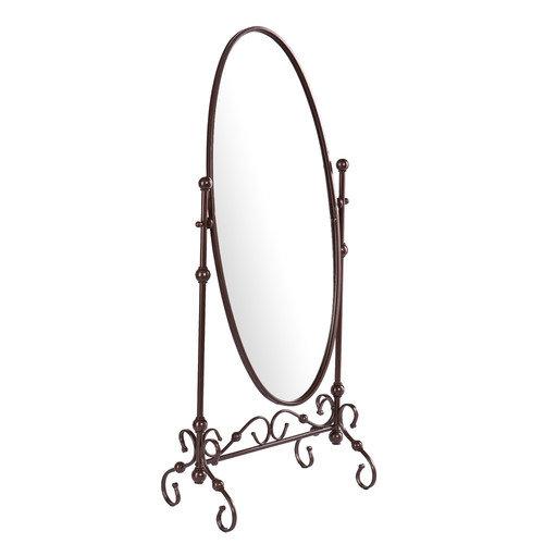 Wildon Home  Templeton Mirror in Antique Bronze