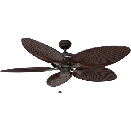 52 Honeywell Sunset Key Tropical Ceiling Fan Bronze