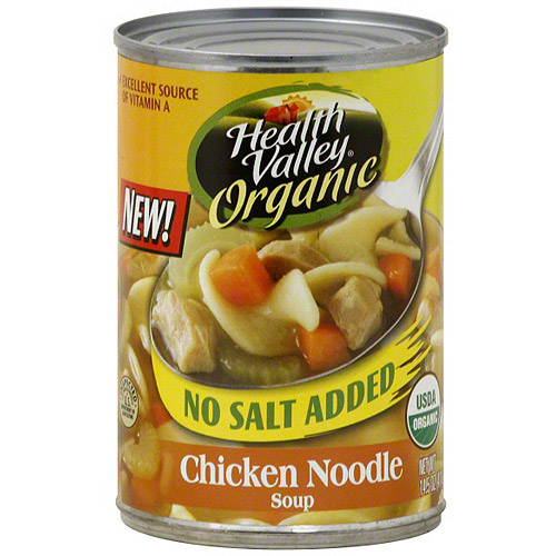Health Valley Organic Chicken Noodle Soup, 14.5 oz (Pack of 12) by Generic