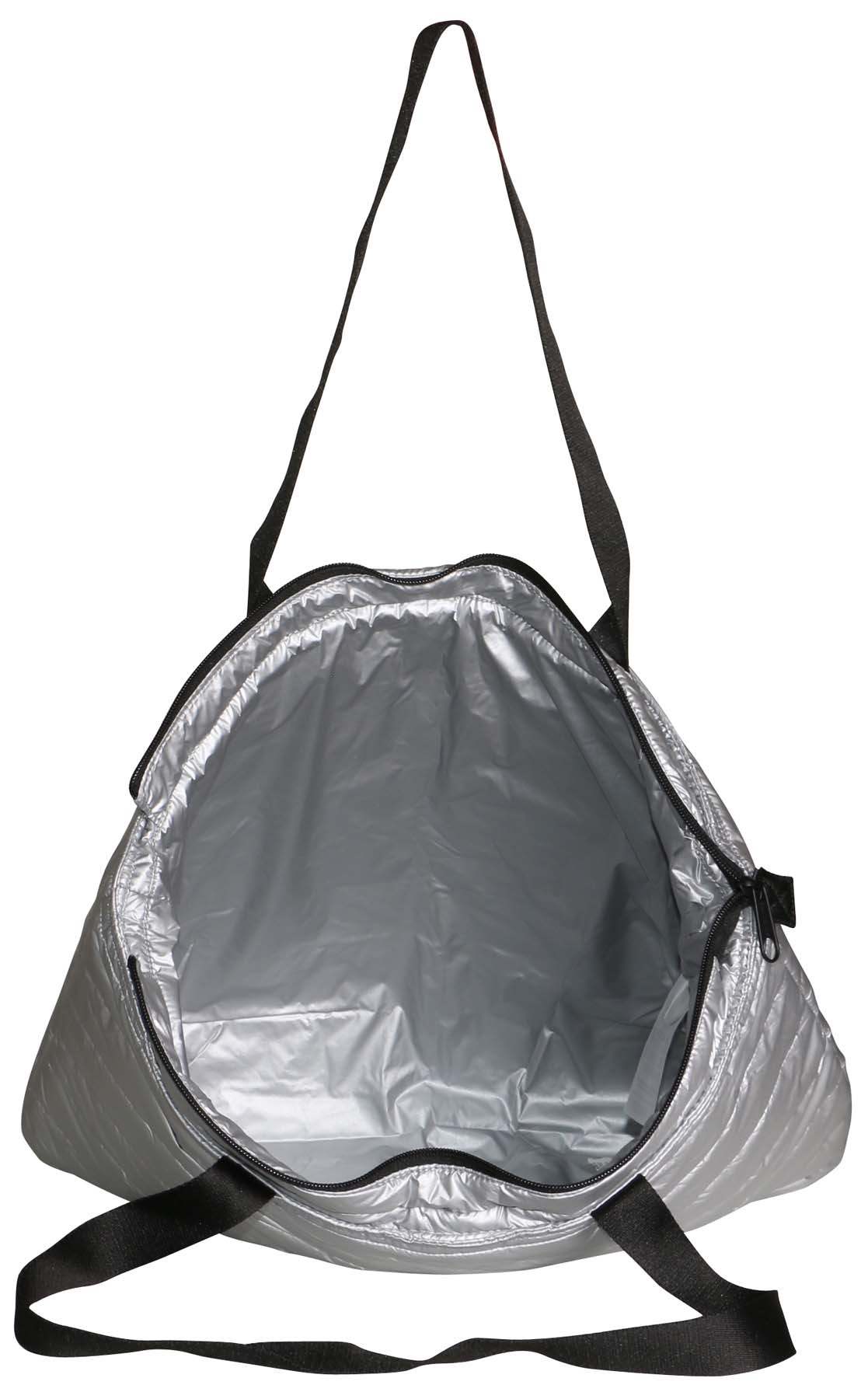 4249f2a4c6 Converse - Converse Packable Carry All Tote Bag-Metallic Silver-One Size -  Walmart.com