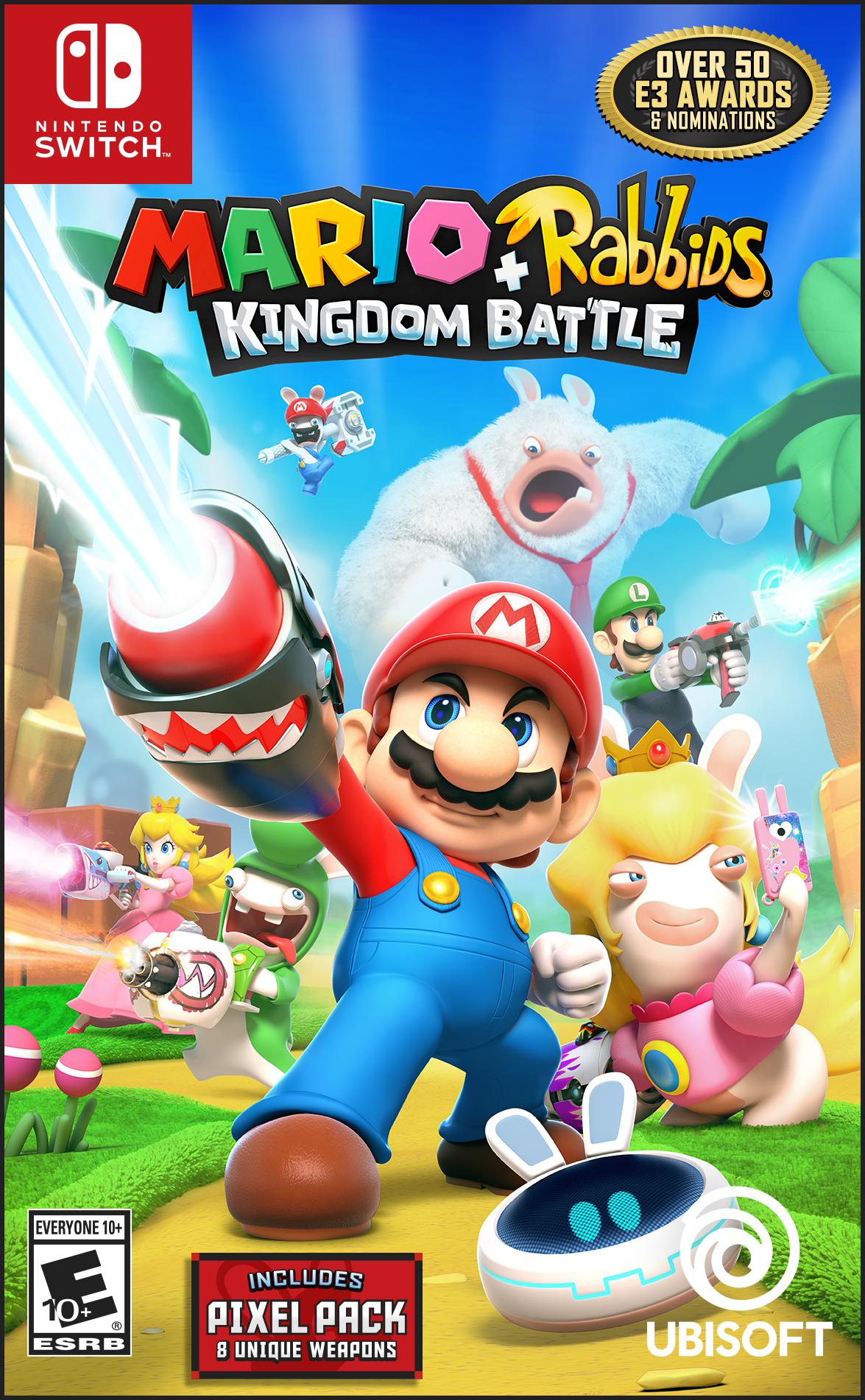 Mario + Rabbids Kingdom Battle, Nintendo Switch by Nintendo Switch