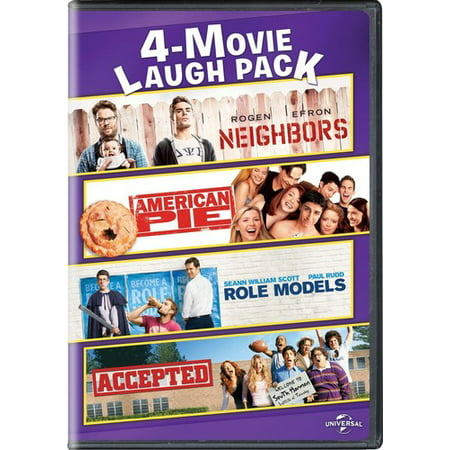 American Pig - Neighbors / American Pie / Role Models / Accepted (DVD)