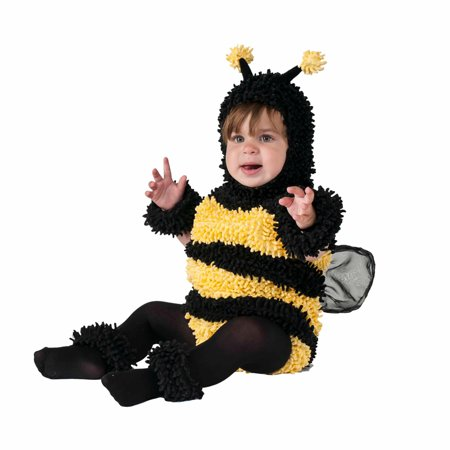 bumble bee infant halloween dress up role play costume