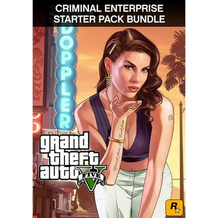 Gta V Halloween Update (GTA V + Grand Theft Auto Criminal Enterprise Starter Pack [Digital)