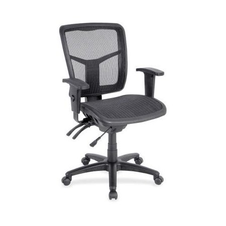 lorell mid back swivel mesh chair llr86904