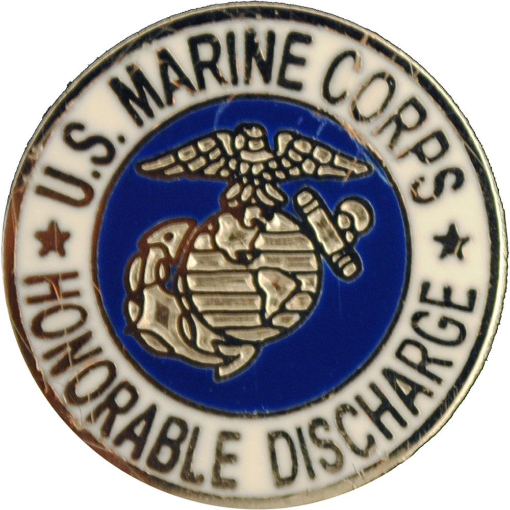 """U.S.M.C. Honorable Discharge Pin 5/8"""""""