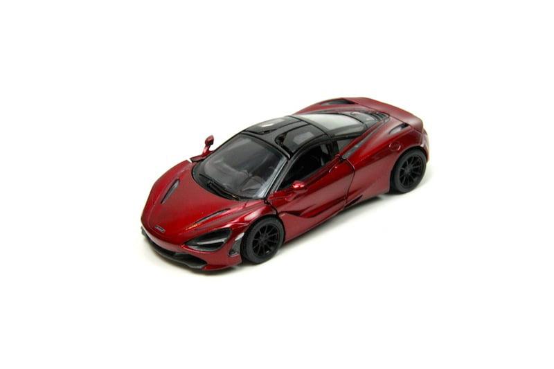 "5/"" Kinsmart McLaren 720S Diecast Model Toy Car 1:36 Red"