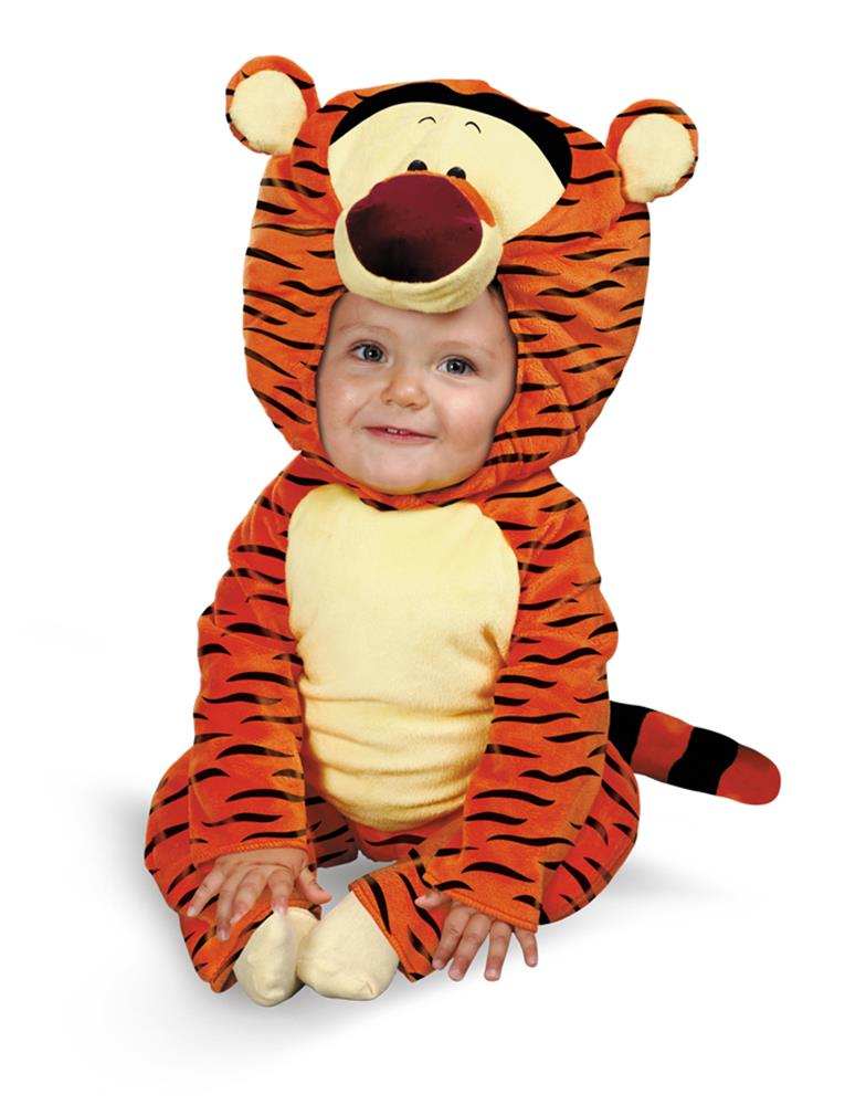39c142e7e52b Tigger Infant Halloween Costume - Size 12-18 Months - Walmart.com