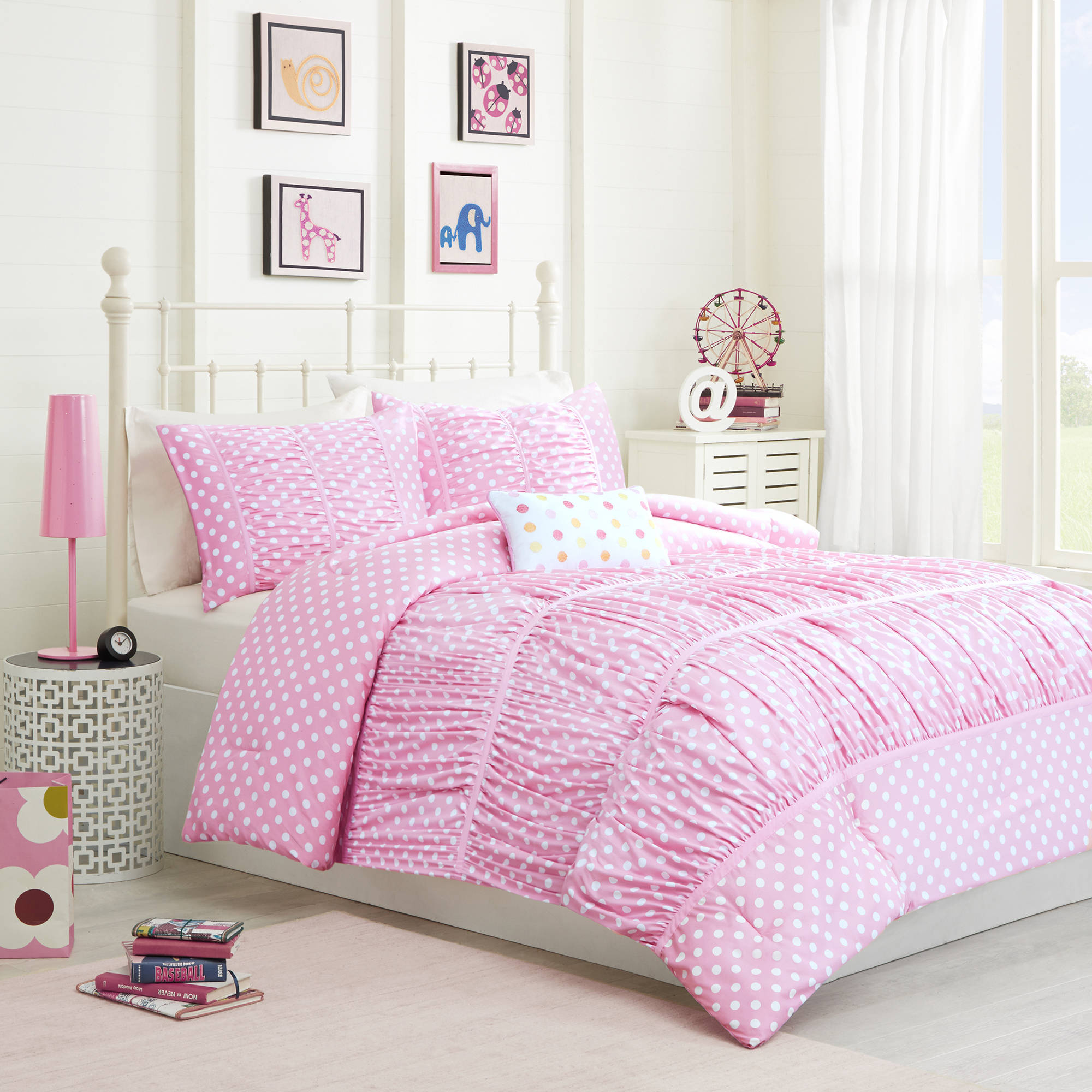 Home Essence Teen Marie Microfiber Comforter Bedding Set