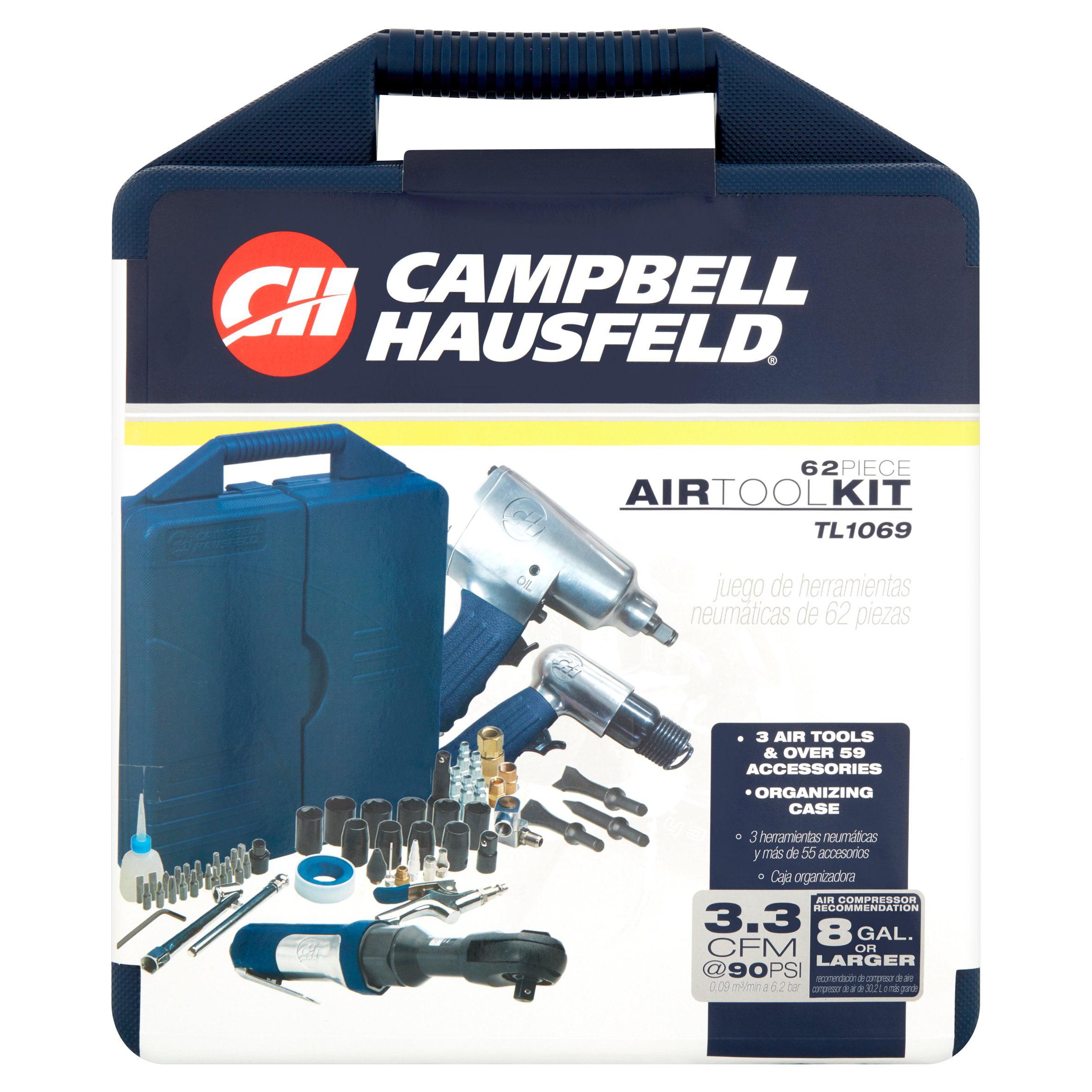 Campbell Hausfeld Air Tool Kit, 62 count by Campbell Hausfeld