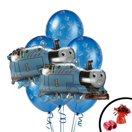 Thomas the Train Jumbo Balloon Bouquet - Thomas The Train Balloons