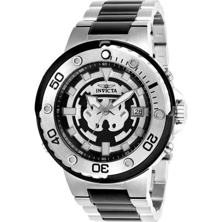 Mens Star Wars Watch (Men's 26203 Star Wars Automatic Multifunction Black Dial)