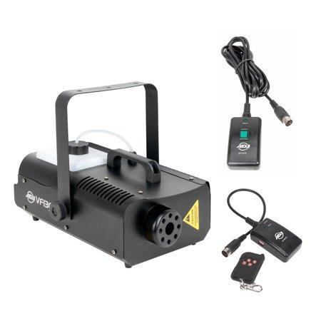 Image of American DJ 1300 Watt 2.3 L Tank Mobile Fog Machine w/ Remote Controls VF1300