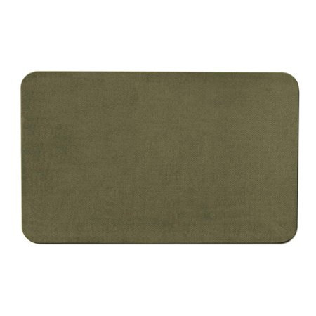 Skid-resistant Carpet Indoor Area Rug Floor Mat - Olive Green - 2' X 3' - Many Other Sizes to Choose From ()