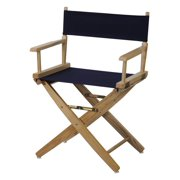 Premium Director Chair with Navy Canvas
