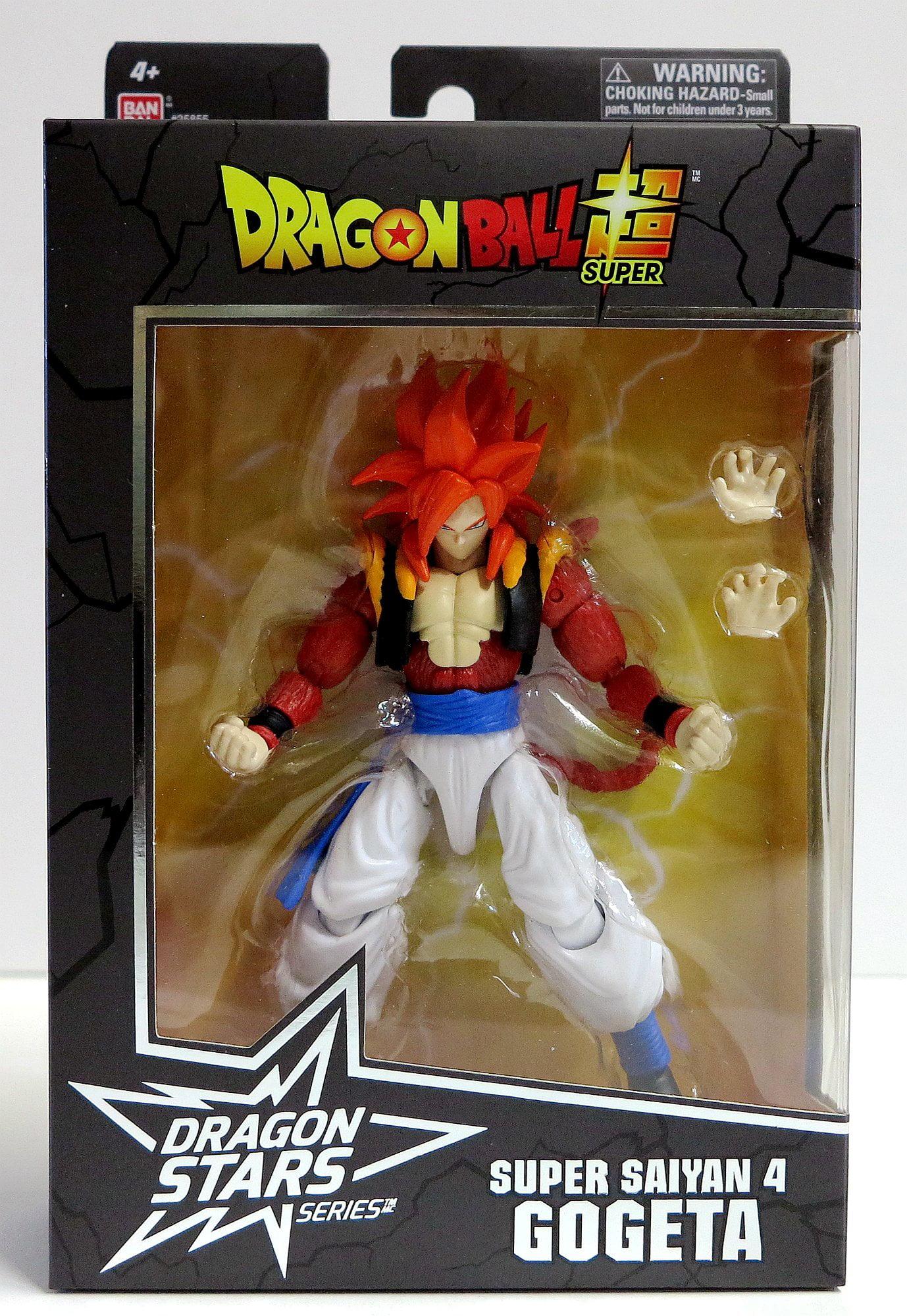 Bandai Dragon Ball Stars Wave 14 Super Saiyan 4 Gogeta Action Figure Walmart Com Walmart Com