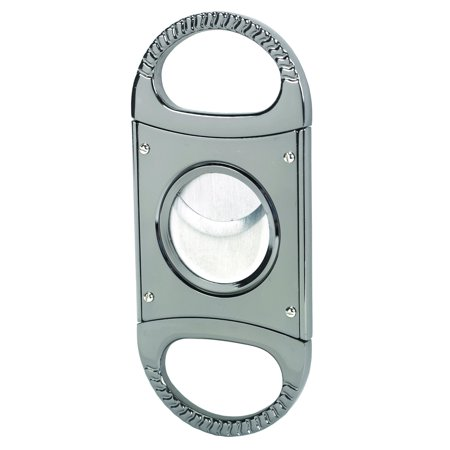 Double Blade Guillotine Cigar Cutter (Quality Importers Trading Double Blade Guillotine Cigar Cutter, Stainless Steel)