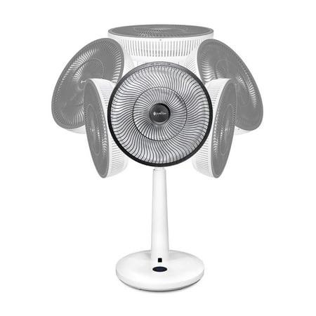 pureFlow CIRCULATOR Randomized Horizontal & Vertical Oscillating Fan