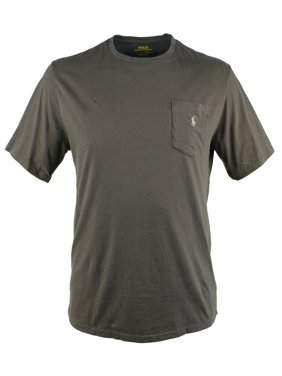 335b15a89 Product Image Heathered Classic-Fit Cotton Tee. Product TitlePolo Ralph  LaurenHeathered ...