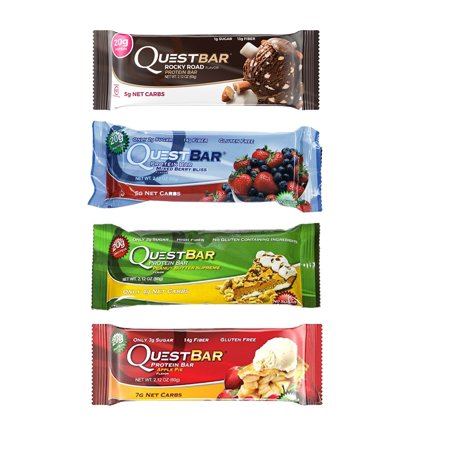 Quest Protein Bar, Variety Pack, 20g Protein, 12 Ct (Quest Bar Variety)