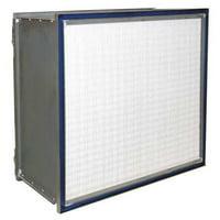 AIR HANDLER Microfiber HEPA Air Filter,12x24x11-1/2 6B616