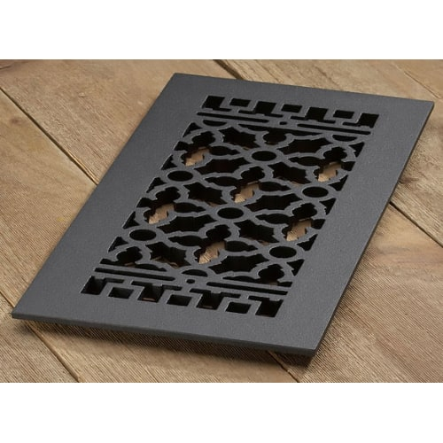 "Reggio Registers 816-H Scroll Series 14"" x 6"" Grille with Mounting Holes"