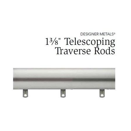 - Gilded Bronze KIRSCH DESIGNER METALS Traverse Rod,66