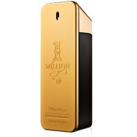 Paco Rabanne 1 Million Eau De Toilette Spray, Cologne for Men, 6.7 Oz