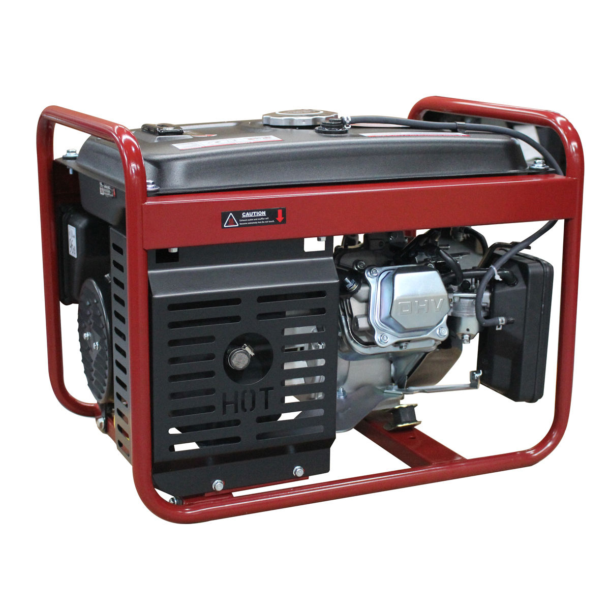 Goplus 4000W Gasoline Generator 4 Stroke 208cc Air Cooled Gas Portable EPA