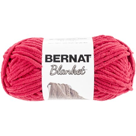 Polyester Face Yarn (Bernat Blanket Yarn, 108 Yd. )