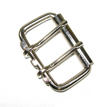 """2 Prong Roller Buckle for Belts- 2"""" Double Prong"""