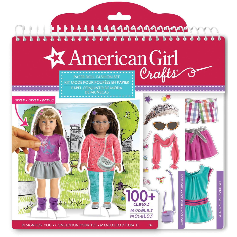 American Girl Paper Doll Fashion Stylist Set by