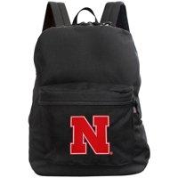 Nebraska Cornhuskers 16'' Made in the USA Premium Backpack - Black - No Size