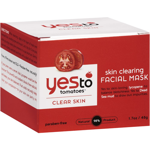 Yes To Tomatoes Clear Skin Skin Clearing Facial Mask, 1.7 oz