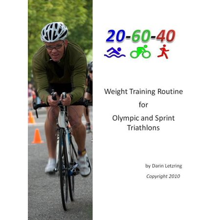 Weight Training Routine For Olympic and Sprint Triathlons -