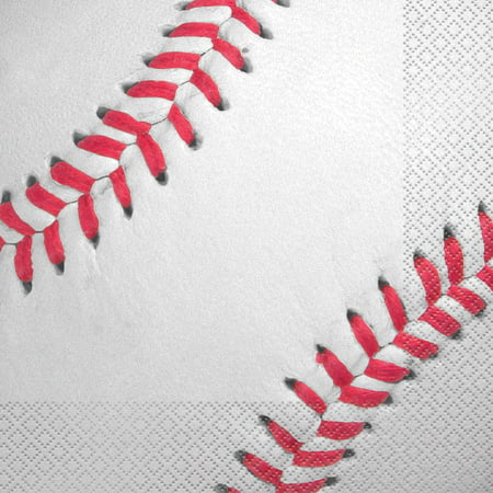 (3 Pack) Baseball Lunch Napkin (16 - Baseball Napkins